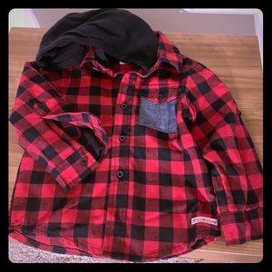 Hudson & Carter toddler flannel shirts
